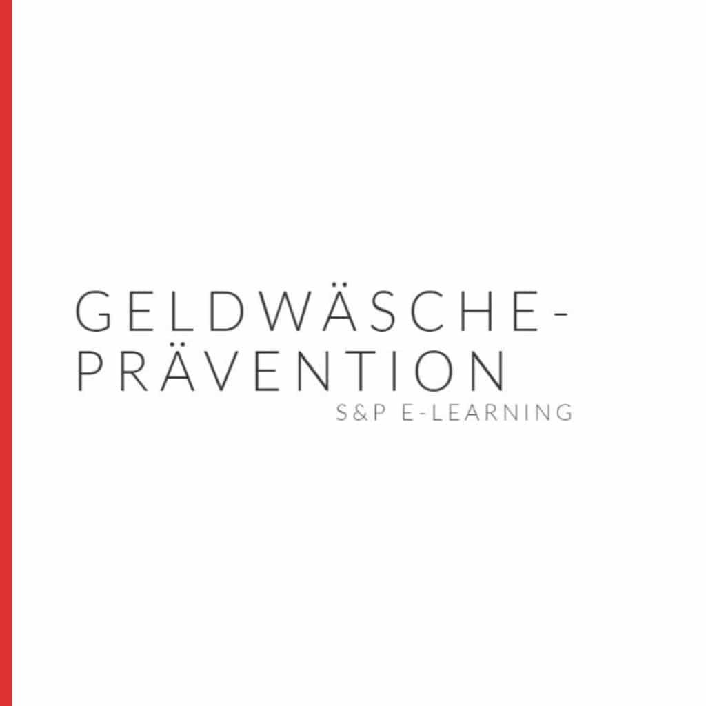 E-Learning Geldwäscheprävention