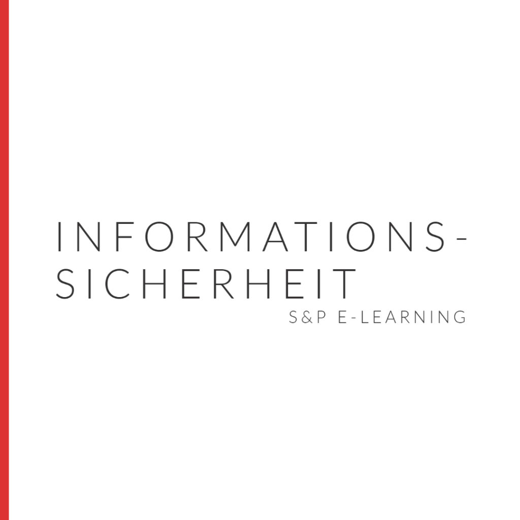 E-Learning Informationssicherheit